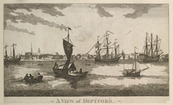View of Deptford f. 100-A